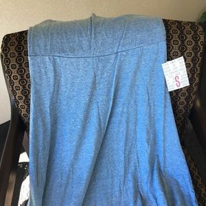 Lularoe Maxi Skirt Heathered Blue